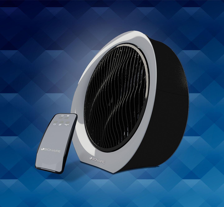 Remote control power fan