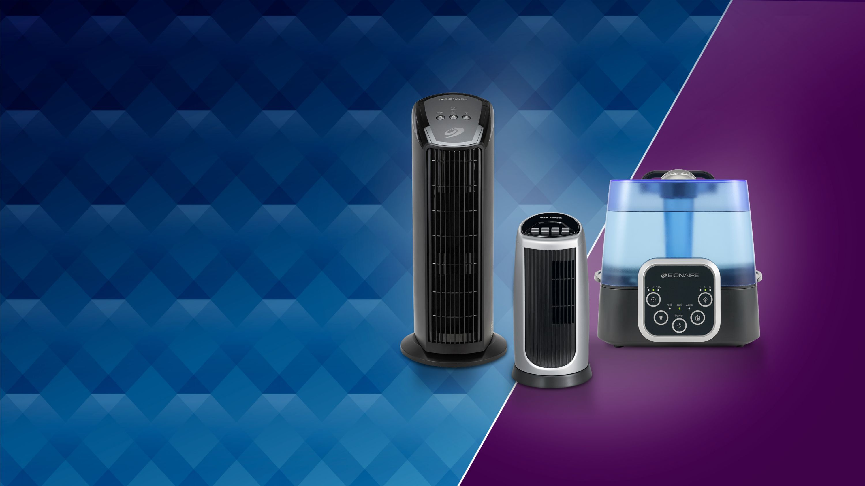Air purifiers and humidifier
